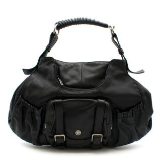 Yves Saint Laurent Mombasa Black Vintage Tote Bag