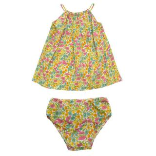 Caramel Baby & Child Floral Dress and Pants