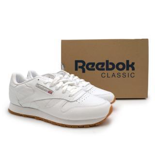 White Reebok Classics Trainers