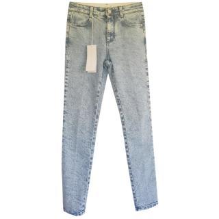 Stella McCartney skinny blue jeans