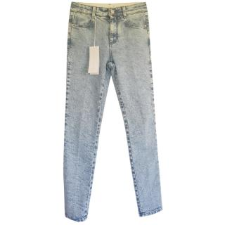 Stella McCartney skinny blue jeans