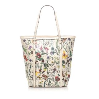 Gucci Flora Nice Leather Tote