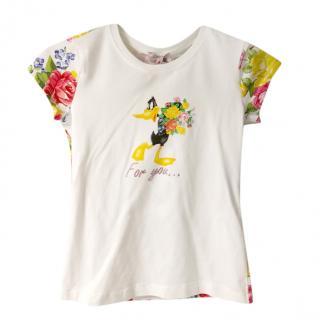 Monnalisa Daffy Duck For You T-Shirt