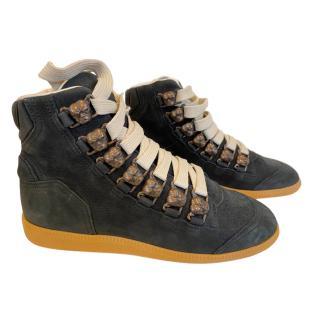 Maison Martin Margiela Dog Hi Top Black Sneakers