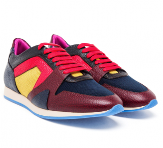 Burberry Prorsum Colourblock Field Sneakers
