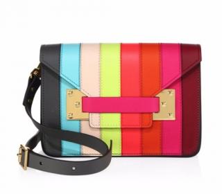 Sophie Hulme Mini Milner Rainbow Bag