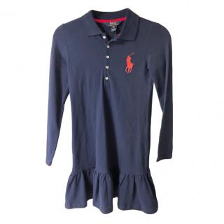 Polo Ralph Lauren Navy Kid's Dress
