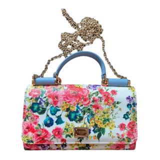Dolce & Gabbana Floral Print Sicily Von Bag