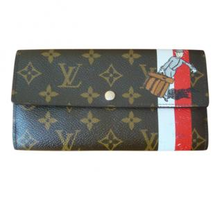 Louis Vuitton Limited Edition Monogram Long Groom Wallet