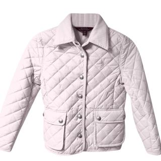 Polo Ralph Laren Pale Pink Puffer Jacket
