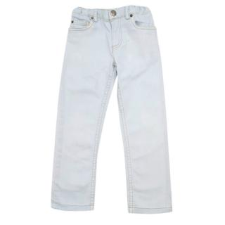 Bonpoint Light Wash Blue Baby Jeans