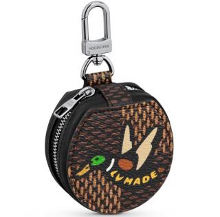 Louis Vuitton x Nigo limited edition earphone case/bag charm