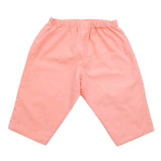 Bonpoint Pink Cotton Trousers