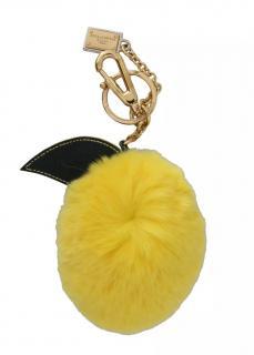 Dolce & Gabbana Lemon Fur Keychain