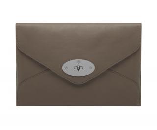 Mulberry Mink Calfskin Envelope Clutch
