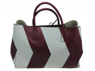 Anya Hindmarch Reflective Chevron Ebury Maxi Featherweight Tote