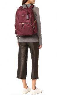 Tumi Burgundy Calais Backpack