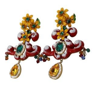 Dolce & Gabbana Floral Chandelier