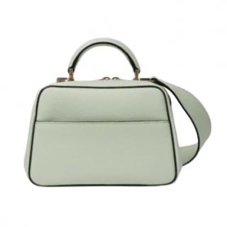 Valextra Serie S Mini Top Handle Bag in Mint - New Season