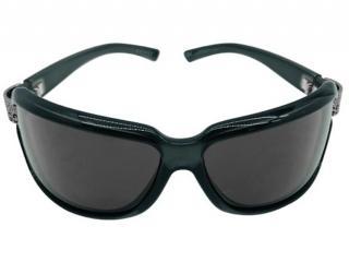 Gucci Black Monogram Crystal Edged Sunglasses