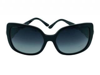 Blvgari Black Crystal Embellished Sunglasses