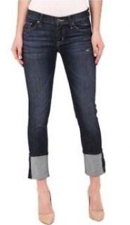 Hudson Crop Muse Dark Mosaic Jeans with 5