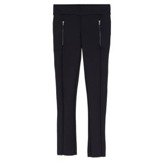 J Brand High Rise Zip Detail Workout Leggings