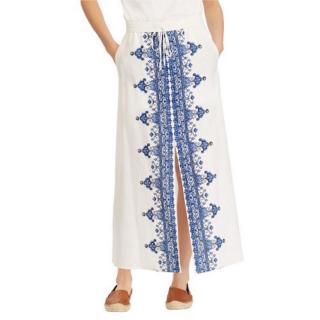 Lauren Ralph Lauren Orela Slit Maxi Skirt