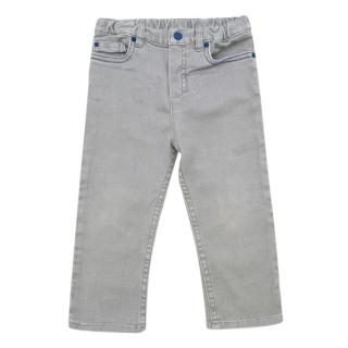 Baby Dior Grey Straight Jeans