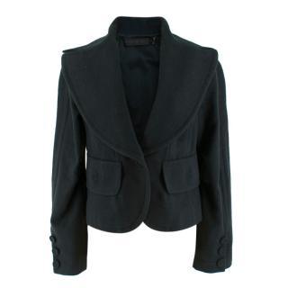 Donna Karan Wool Green Jacket