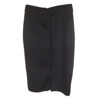 Sandro Black Stretch Skirt