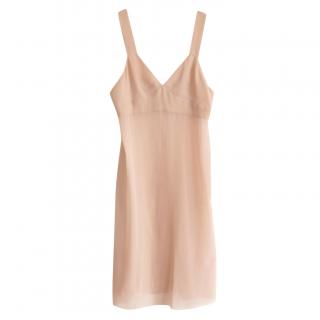 Chanel Vintage Blush Slip Dress