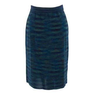 M Missoni Patterned Knee Length Skirt