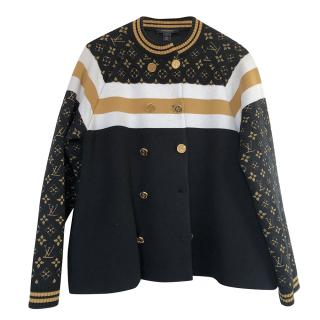 Louis Vuitton Monogram Knit Jacket