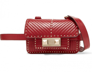 Valentino ZiggyStud quilted leather convertible bag