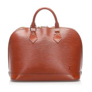 Louis Vuitton Epi Alma PM Tote Bag