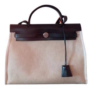 Hermes Herbag 31 Two-Way Tote Bag