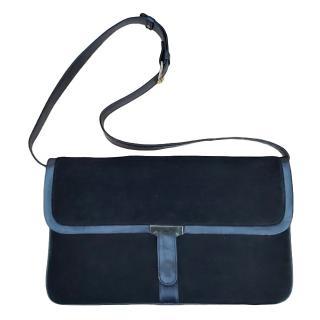 Loewe Black Suede Crossbody Bag