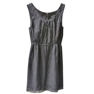 Nina Ricci Black Silk Mini Dress