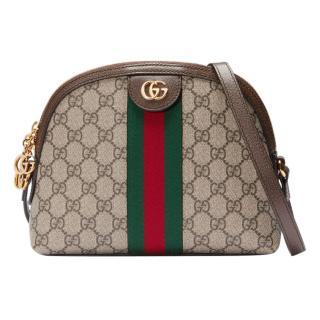 Gucci Supreme Web Stripe Shoulder Bag