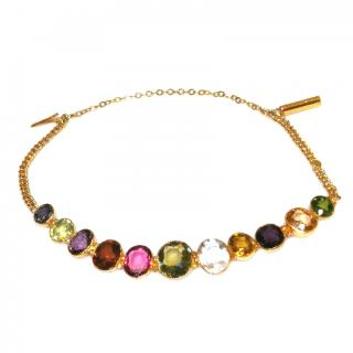 Bespoke Antique Multi Gemstone Harlequin Bracelet