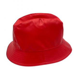 Gucci Men's Red Bucket Hat