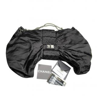 Chanel Black Cruise Collection Silk Bow Bag