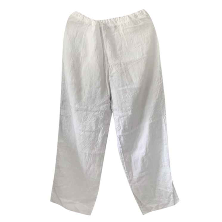 Margaret Howell White Linen Pants