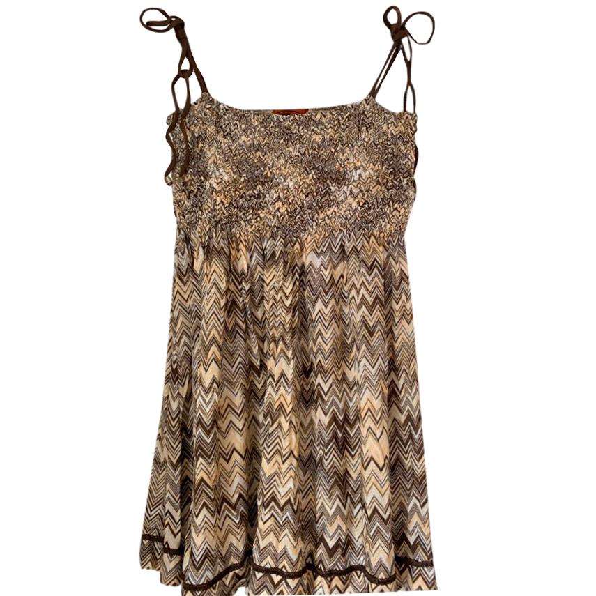 Missoni Beige Knit Top