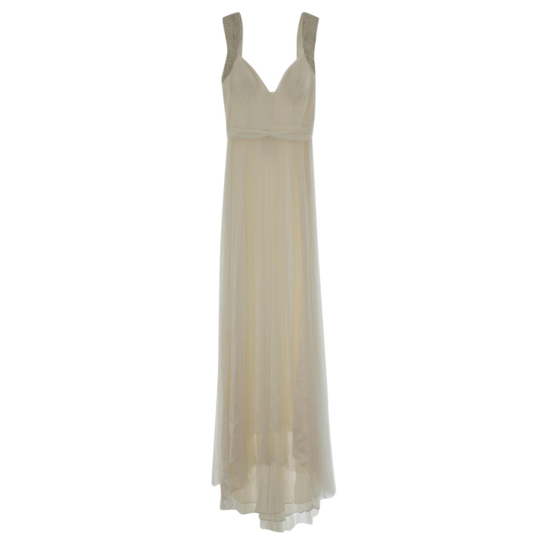 Catherine Deane Tull Beaded Empire Wedding Dress