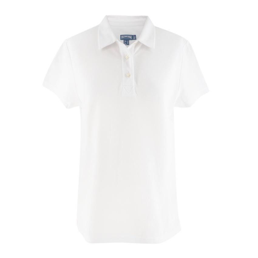 Vilebrequin White Polo Shirt