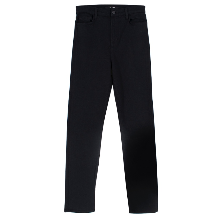 J Brand Maria Straight Seriously Black Jeans