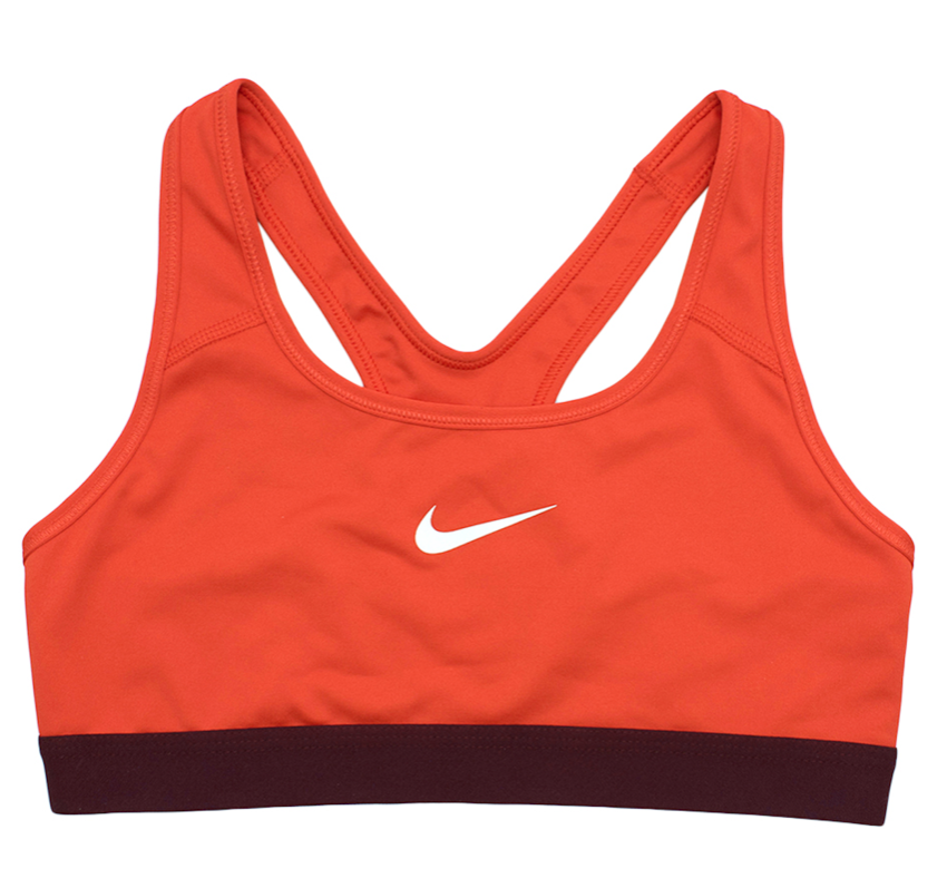 Nike Orange Sports Bra