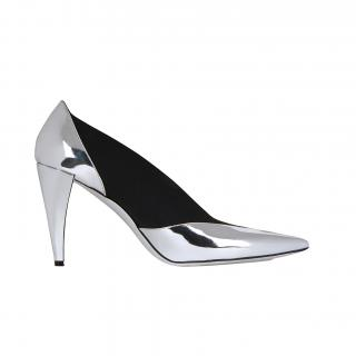 Givenchy Elastic pumps in mirror leather